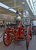 Fire Fighting Equipment: Amoskeag Steam Fire Pumper, Manchester Locomotive Works, 1871. Used a half century by Ashland, Massachusetts Fire Department. Manchester Airport, Manchester, New Hampshire, 2005.