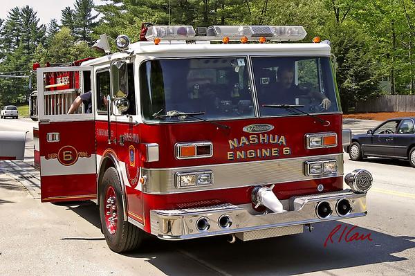 Fire Trucks and Emergency Vehicles